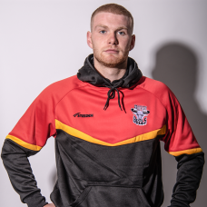 2021 Adult Pullover Hoody - Red, Amber and Black
