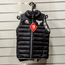Black and Silver Gilet