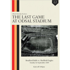 The Last Game At Odsal Programme