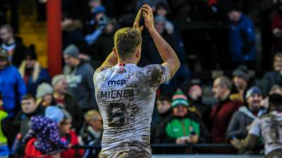 MILNES RETURNS TO ROVERS