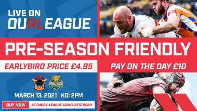 STREAMING DETAILS FOR KEIGHLEY CLASH ANNOUNCED